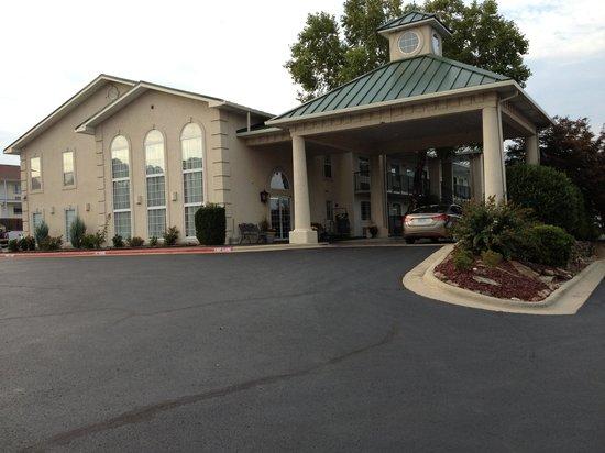 Our Hotel. Days Inn. Next to BT Bones