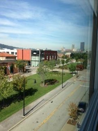 HYATT house Pittsburgh-South Side: View from room 311