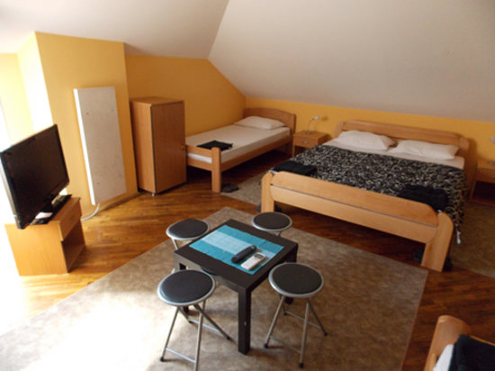Bed and Breakfast Belgrade: Double Room with Private External Bathroom