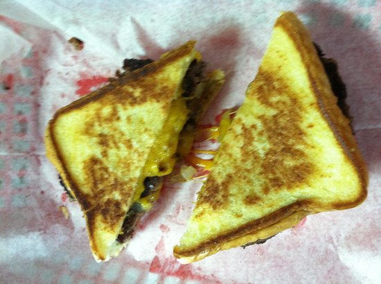 Jeannie's One Stop Diner: Patty Melt