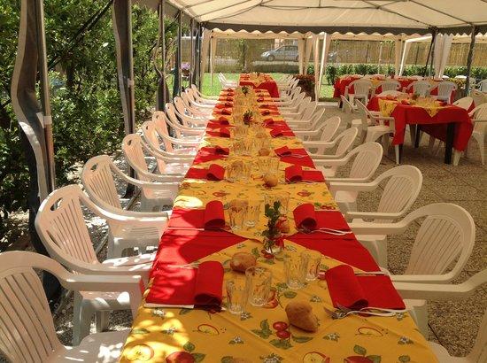 San Genesio ed Uniti, Italy: Gazebo per cerimonie