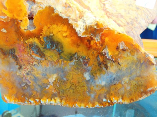Rock Your World: Pacific Northwest Gem & Jewelry Gallery: Graveyard Point Plume Agate from Oregon