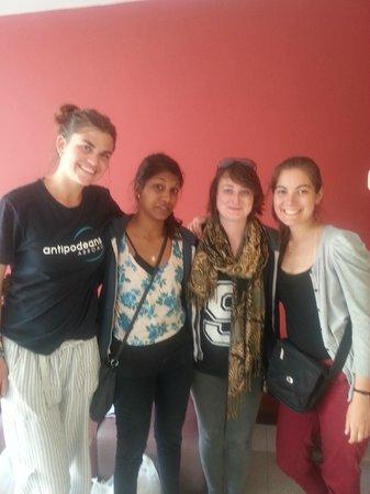 Muchik Hostel: Lindas chicas :)