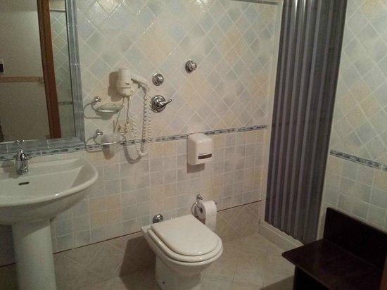 History Hotel: Salle de bain