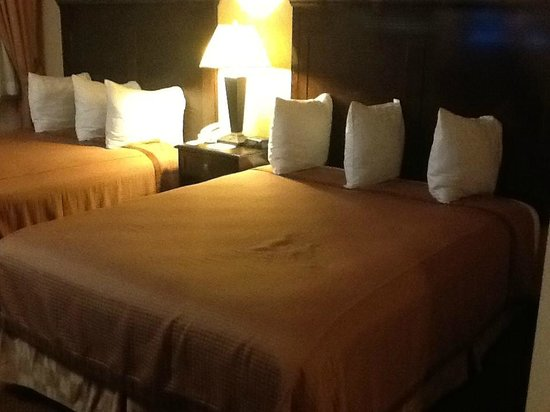Vagabond Inn Executive Pasadena: Two queen beds