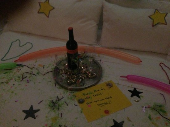 Hilton Garden Inn Los Angeles/Hollywood: cadeau pour mon anniversaire