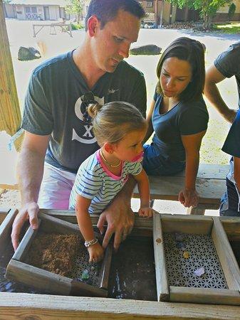 Big Rock Dude Ranch at Ponderosa : Gem mining