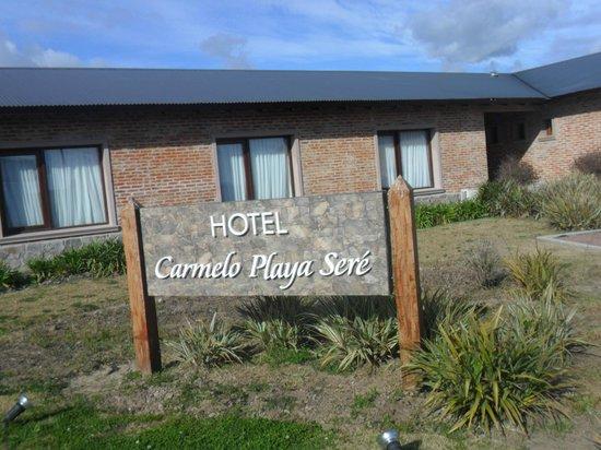 Hotel Playa Sere: VISTA - Costado izquierdo del hotel
