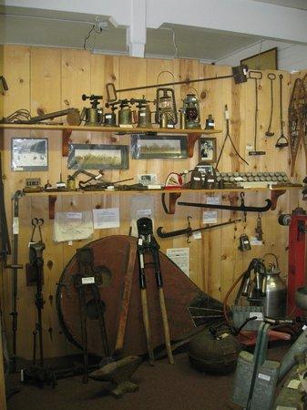 Siuslaw Pioneer Museum: Siuslaw Museum exhibit