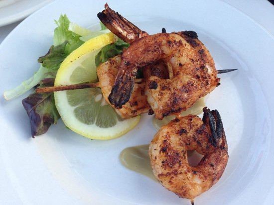 Boathouse Bistro Tapas Lounge & Restaurant : Spicy Grilled Shrimp