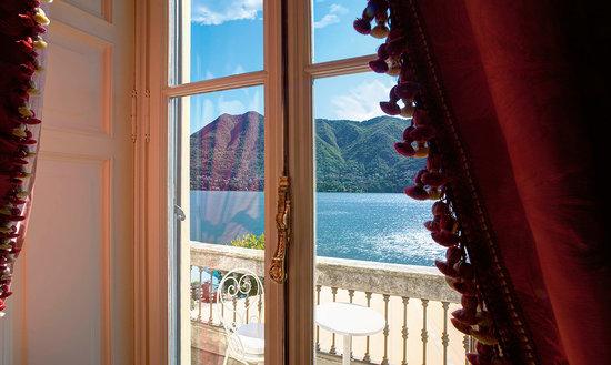 Villa d'Este: View from the suite bedroom
