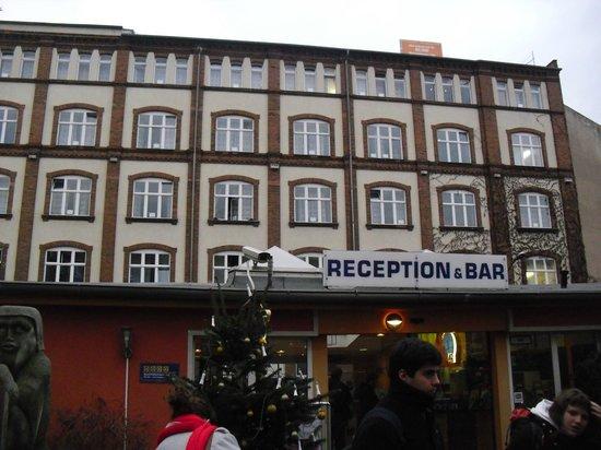A & O Hotel & Hostel Friedrichshain: the hostel rooms