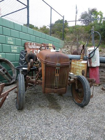 Westbank Museum: Old Ford Tractor