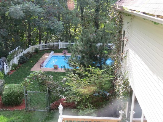 Cherry Valley Manor: Another View from Our Deck To The Pool