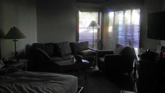Worldmark Galena: Living Space with bed down