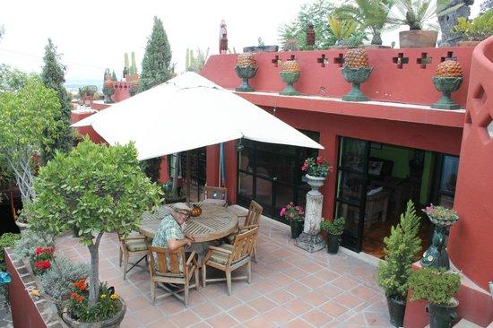 Casa Cinco Patios : One of the Cinco Patios
