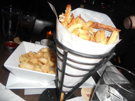 Ocean : Calamari & Truffle Fries