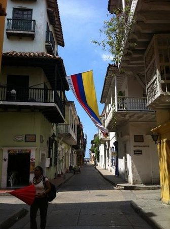 Casa Maria : Calles