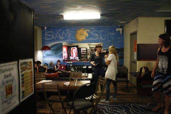 SameSun Vancouver: Der Gemeinschaftsraum