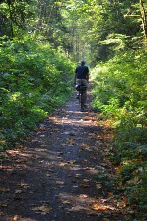 Cowichan Valley Trail between Glenora and Marie Canyon