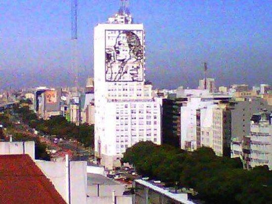 Conte Hotel: Vista desde habitación en séptimo piso