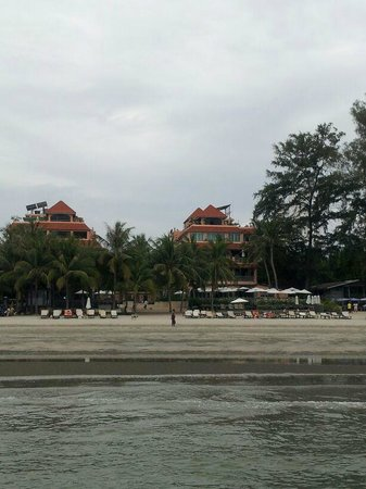 Anantasila Villa by the Sea, Hua Hin: ชายหาดที่แสนสงบ