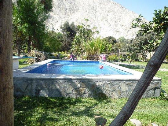 Refugio de Santiago Ecolodge: Piscina