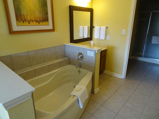 Wyndham Smoky Mountains: Master Bath