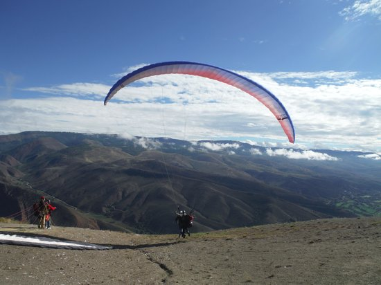Vail Valley Paragliding Tandem Adventures: Here I go