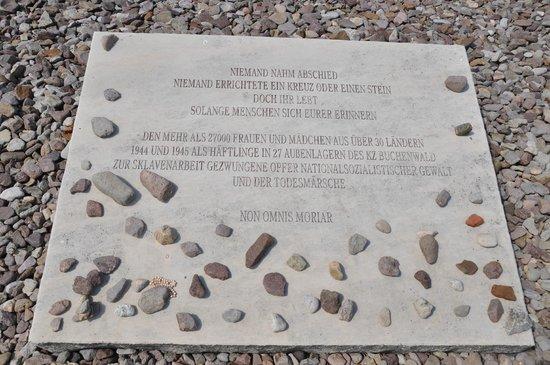 Buchenwald: Memorial Plaque