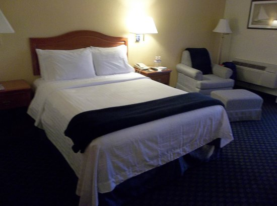 The Marina Inn on San Francisco Bay : my room