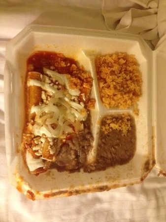 Lola's Kitchen: Beef enchiladas.