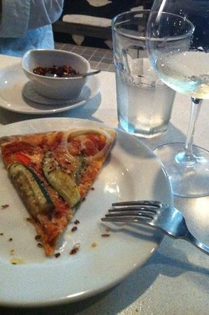 Gianni's Trattoria: simple but nice pizza