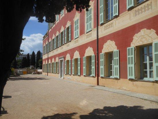 Musée Matisse : Rear of building