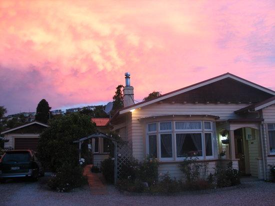 Ambleside Bed & Breakfast: Sunset over Ambleside
