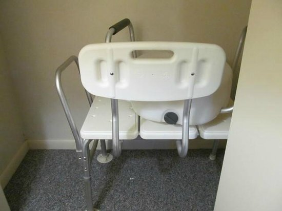 Country Village at Jiminy Peak: Equipment for handicapped in closet in unit 85