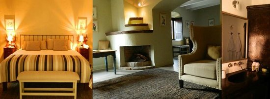 Hotel El Palomar: Suite living room