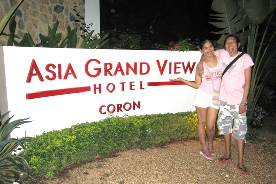 Asia Grand View Hotel : entrance of AGVH