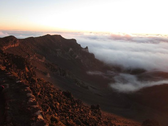 Haleakala National Park: Stay after sunrise and just watch