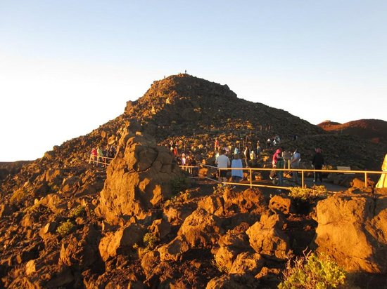 Haleakala National Park: Nice sunlight paintings