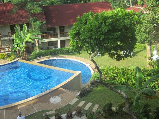 Asia Grand View Hotel : Two tiered pool