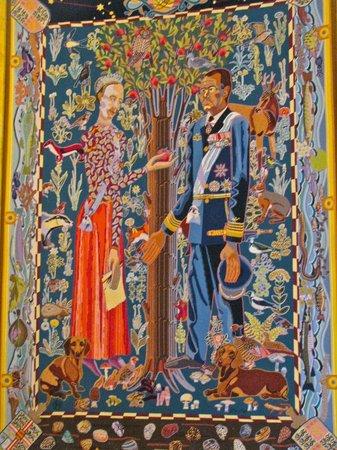 Palacio de Christiansborg: Vibrant tapestry