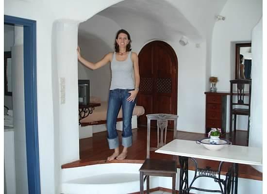 Lava Oia's: Inside our room