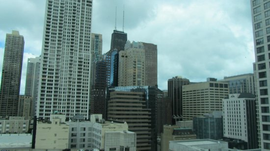 Homewood Suites by Hilton Chicago-Downtown : View from the room