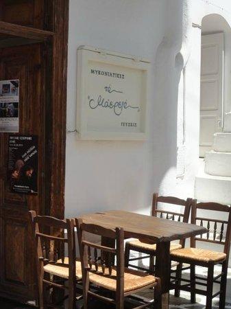 Philippi Hotel : Maereio Restaurant (across street)