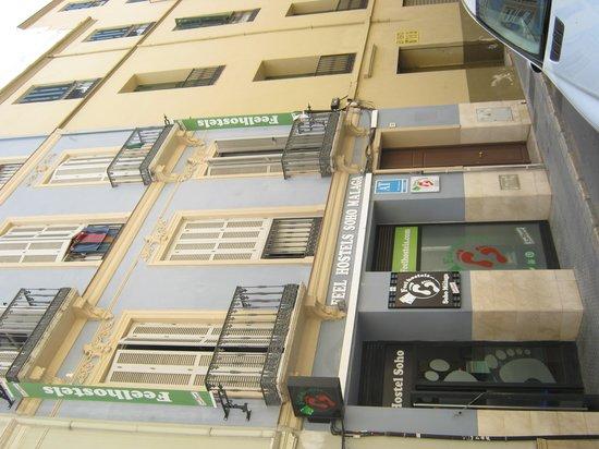 Feel Hostels Soho Malaga: Facade