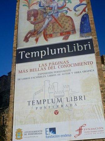 Castillo de los Templarios: templar libary