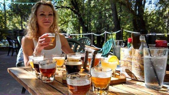 Tamarack Brewing Company: 13 tasters!