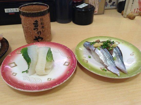 Kaitenzushi Matsuriya: sushi2