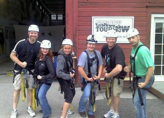 Canopy Tours Northwest : Feelin strong!